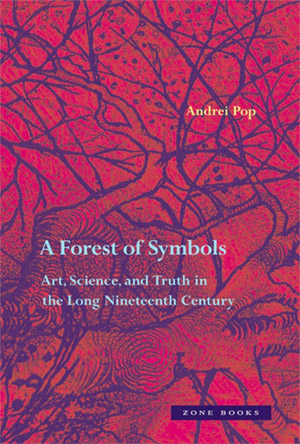 "jacket cover for Andrei Pop's book ""A Forest of Symbols"""