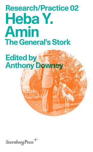 "book cover for ""the general's stork"""